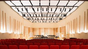 Sustainable lighting solution for the Martin Harris Centre for Music and Drama