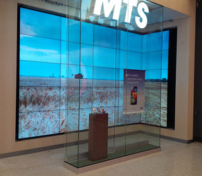 A Video Wall With a Twist