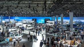 ETC lights international motor show for Daimler