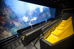 Barco projectors bring virtual reality thrill ride to life