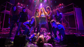 ETC Source Four LED Lustr brings color and texture to American Idiot at Pace University