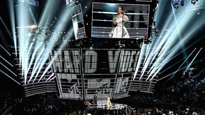 Clay Paky Mythos and Sharpys Shine at 2016 MTV Video Music Awards at Madison Square Garden