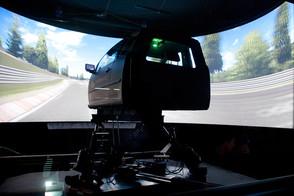 F50 projectors empower VI-grade's driving simulator