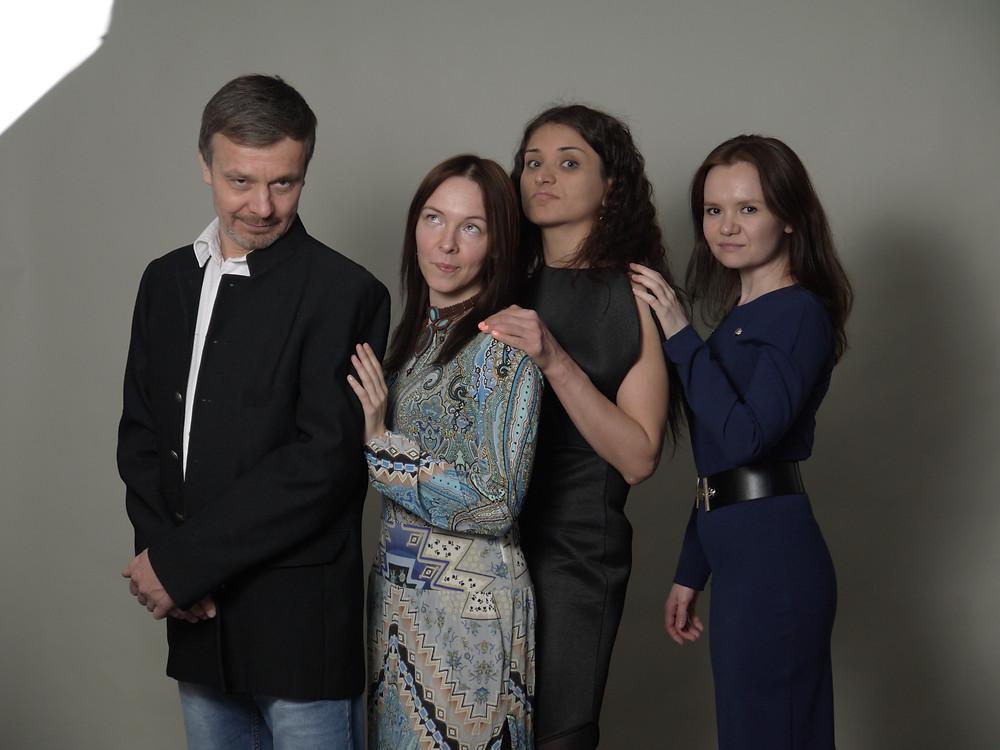 "Актерская фотосессия в Школе Кино и Телевидения ""Арт ТВ"""
