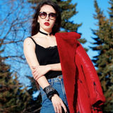 Полина Татаркина, фотограф-модель