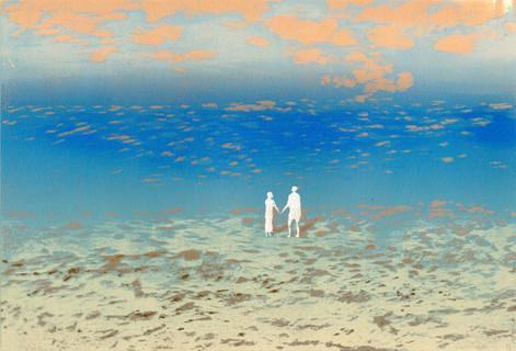 Walk at Beach Together