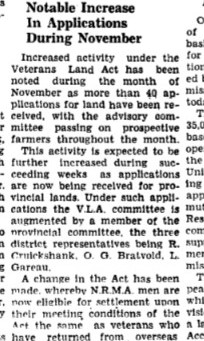 This Week In History - 30 Nov 1945