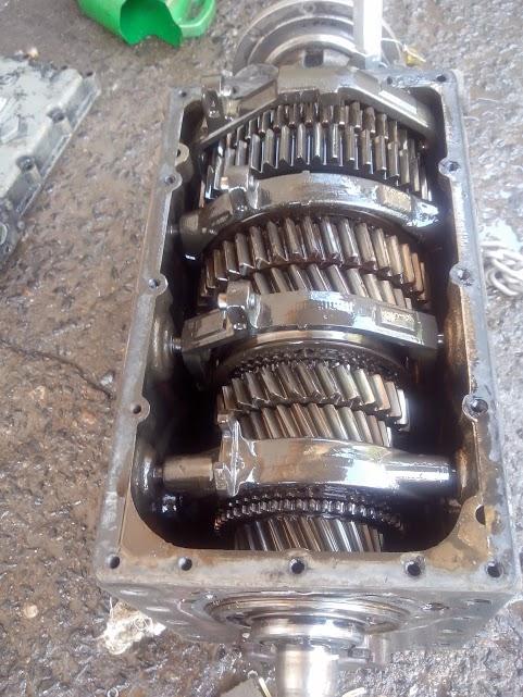 Caixa de Câmbio após montagem