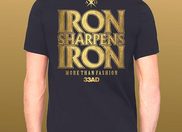 "33AD ""Iron Sharpens Iron"" premium collection poly/cotton unisex"