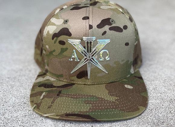 33AD Christian brand Multi-Cam military SnapBack cap