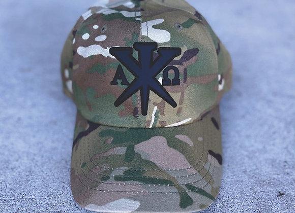 """33AD brand unstructured Multi-Cam """"dad"""" unisex cap"""