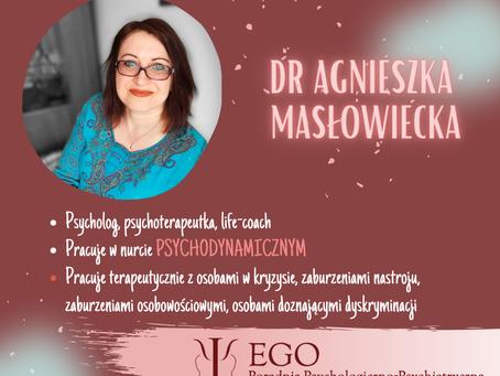 Dr Masłowiecka w zespole Poradni EGO