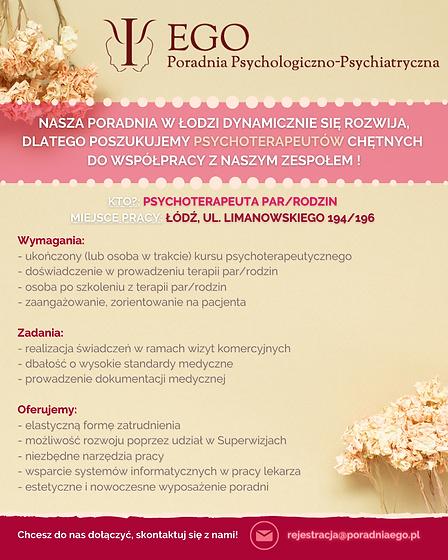 poradnia ego ogloszenie psychoterapeuta
