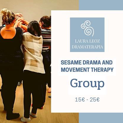 Group Sesame dramatherapy