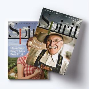 Southwest Airlines Spirit: San Antonio + Houston