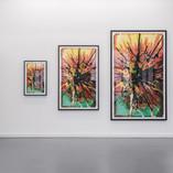 "Splash I-III (after Moholy Nagy ""Telephone Paintings""), 1984/2015"