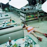 Hashimoto Reika wears Milk #442, 2006