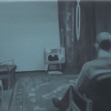 Study for Man Watching T.V. (blue), 2003