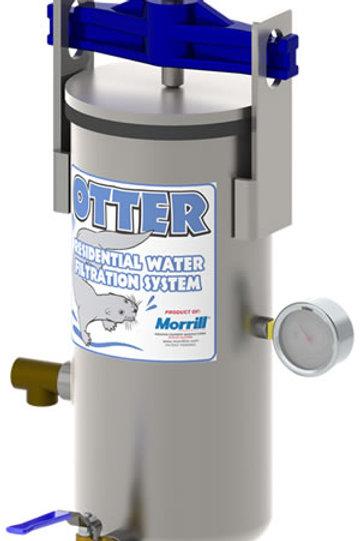 Filtro de nutria de agua de pozo