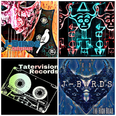 """TaterVison Records CD bundle """"FREE SHIPPING"""""""