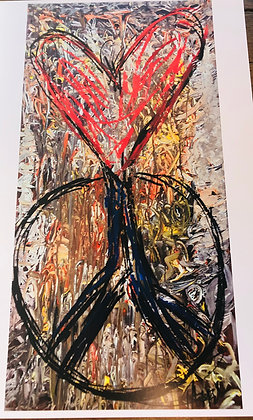Peace Heart Print