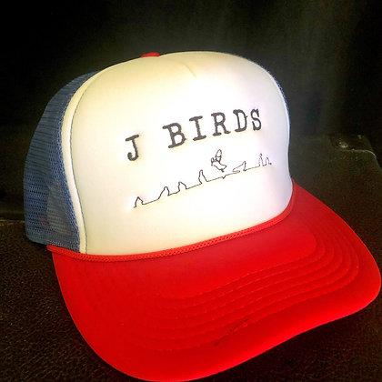 J Birds trucker hats in multi colors free shipping