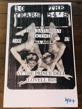 Vintage Flyer print