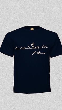 "J Birds ""Black"" T shirt ""Free Shipping"""