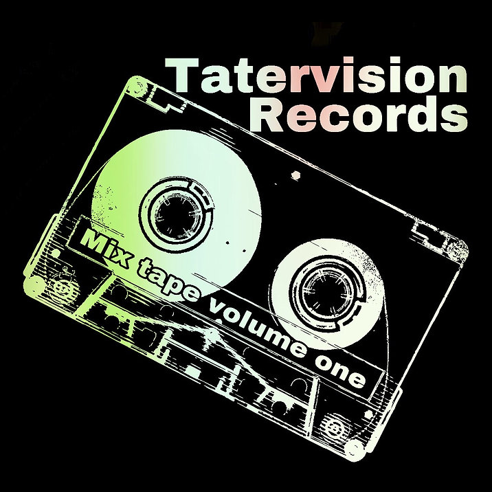 "(Free Shipping) TaterVision Records ""Mix Tape Volume One"""