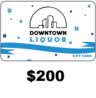 Downtown Liquor Gift Card $200