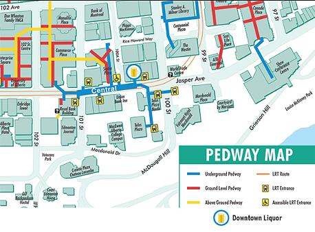 Central LRT PEDWAY