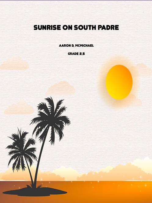 Sunrise On South Padre-Grade 2.5