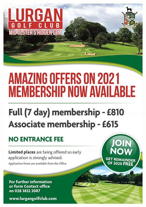 Membership Offer 2021