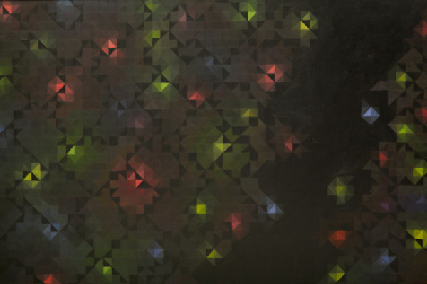 'Crystalline' Fine Art Giclée print