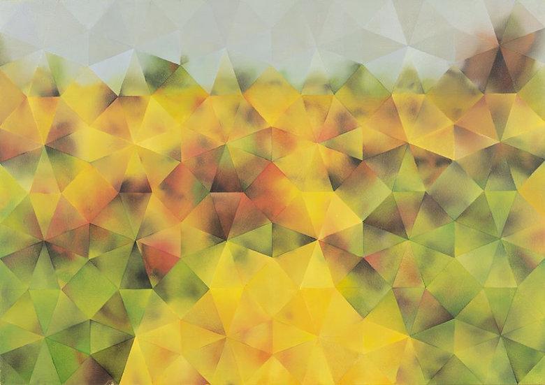 'Flower Bed III' - Painting & Prints