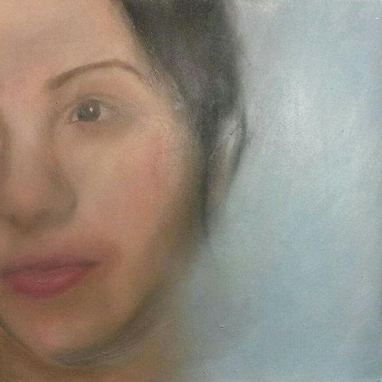 'Female Study' Original Painting