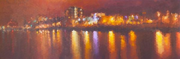 Glasgow River Clyde Scotland - Painting & Prints