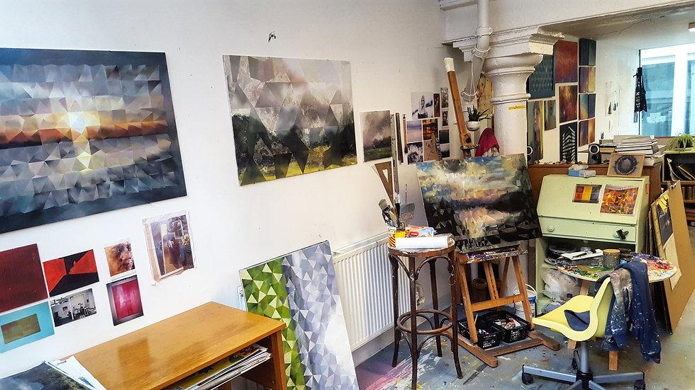 Studio-artist-art-painting-Scottish