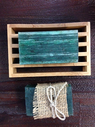 MINT + OLIVE OIL SOAP