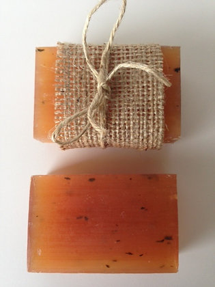 LICORICE  + OLIVE OIL SOAP
