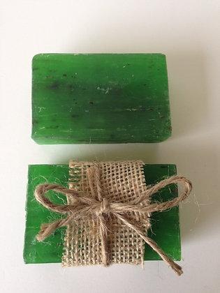 BASIL + OLIVE OIL  SOAP