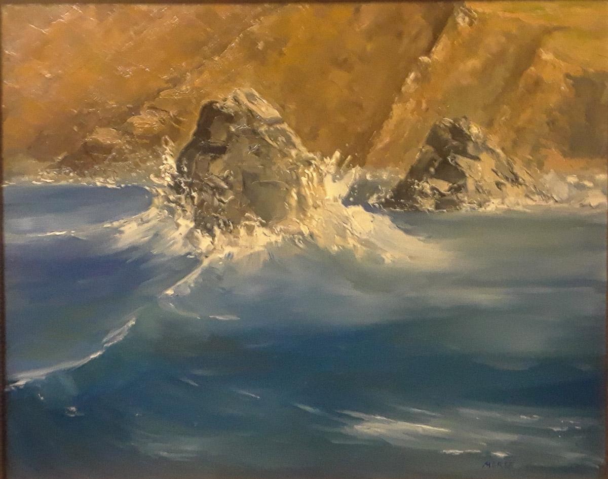 Tide Change at the Cliffs of Mohr by Regina Morse