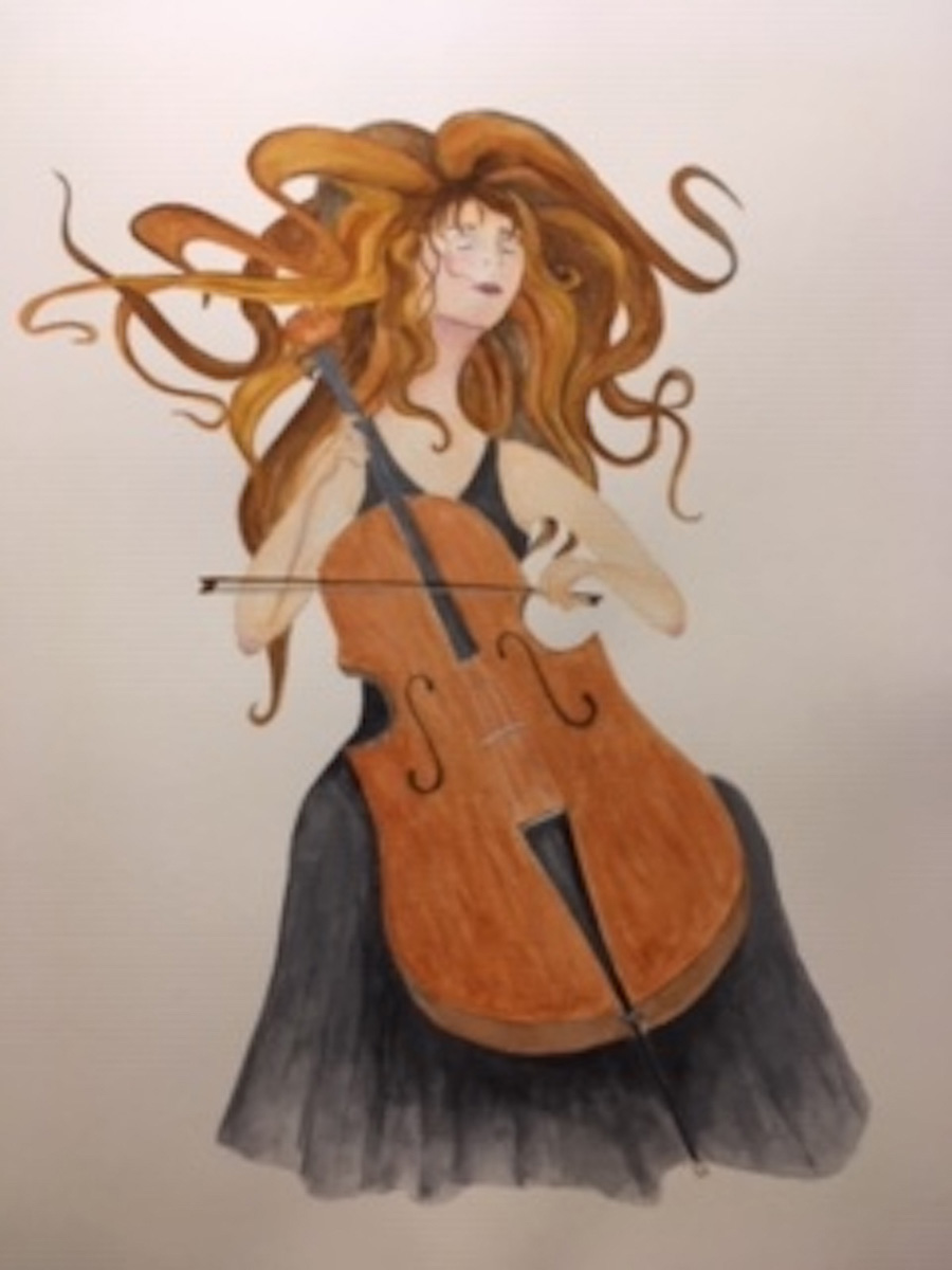 Playing with Passion No. 2 by Peggi Heissenberger