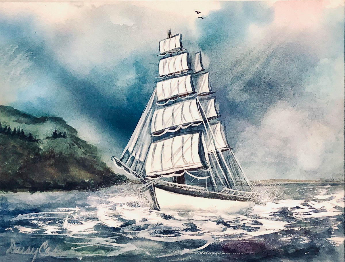 The Rolling Seas by Daisy Case