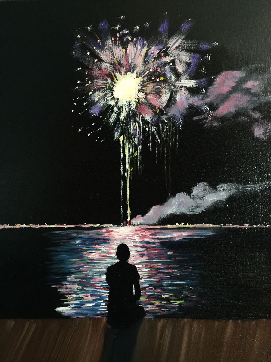Solitary Celebration by Nancy Yacci