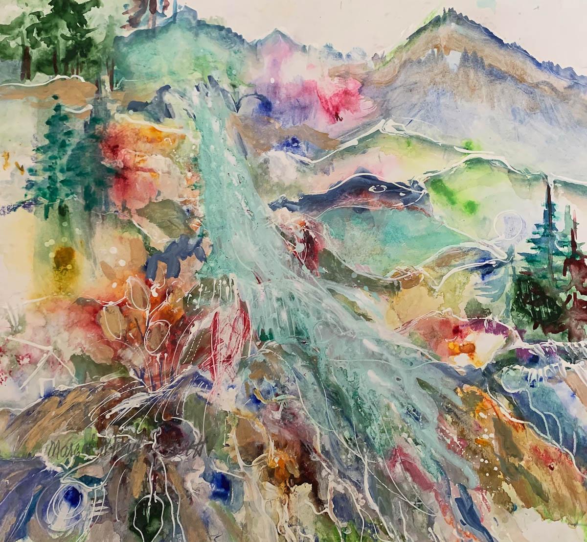 Falling Waters by Margot Mordini