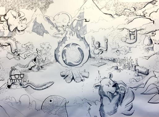 The drawing Kingdom