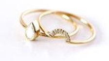 SEEING DOUBLE BOHO STACK RING