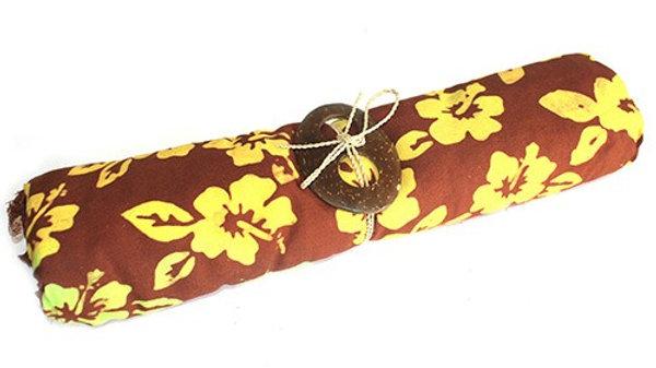 Chocolate Bali Print Sarong