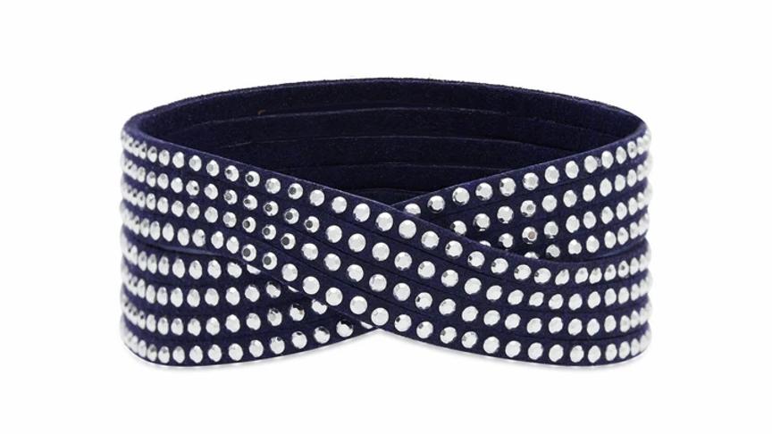 Anemone Navy 2 Wrap Bracelet
